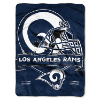 NFL Los Angeles Rams 60x80 Super Plush Throw Blanket