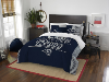 NFL Los Angeles Rams QUEEN Comforter and 2 Shams