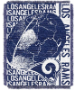 NFL Los Angeles Rams SPIRAL 48x60 Triple Woven Jacquard Throw