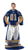 NFL Los Angeles Rams Uniform Huddler Blanket With Sleeves