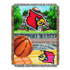 NCAA Louisville Cardinals Home Field Advantage 48x60 Tapestry Throw