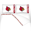 NCAA Louisville Cardinals Micro Fiber Bed Sheets