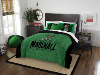 NCAA Marshall Thundering Herd QUEEN Comforter and 2 Shams