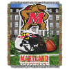 NCAA Maryland Terrapins Home Field Advantage 48x60 Tapestry Throw