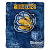 NBA Memphis Grizzlies REFLECT 50x60 Raschel Throw