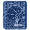 NBA Memphis Grizzlies 48x60 Triple Woven Jacquard Throw
