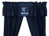 NBA Memphis Grizzlies Valance - Locker Room Series