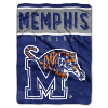 NCAA Memphis Tigers OVERTIME 60x80 Super Plush Throw