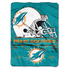 NFL Miami Dolphins 60x80 Super Plush Throw Blanket
