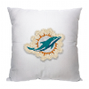 NFL Miami Dolphins 18x18 Letterman Pillow