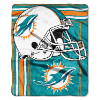 NFL Miami Dolphins 50x60 Raschel Throw