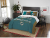 NFL Miami Dolphins QUEEN Comforter and 2 Shams