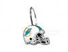 NFL Miami Dolphins Shower Curtain Rings