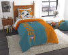 NFL Miami Dolphins TWIN Size Bed In A Bag