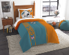 NFL Miami Dolphins Twin Comforter with Sham