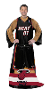 NBA Miami Heat Uniform Huddler Blanket With Sleeves