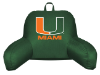 NCAA Miami Hurricanes Bed Rest Pillow