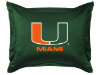 NCAA Miami Hurricanes Pillow Sham - Locker Room Series