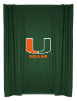NCAA Miami Hurricanes Shower Curtain