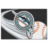 MLB Miami Marlins 20x30 Tufted Rug