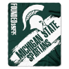 NCAA Michigan State Spartans 50x60 Fleece Throw Blanket