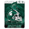 NCAA Michigan State Spartans OVERTIME 60x80 Super Plush Throw