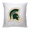 NCAA Michigan State Spartans 18x18 Letterman Pillow