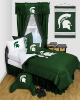 NCAA Michigan State Spartans Comforter - Locker Room Series
