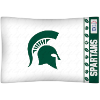 NCAA Michigan State Spartans Micro Fiber Pillow Cases (set of 2)