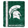 NCAA Michigan State Spartans Sherpa 50x60 Throw Blanket