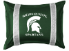 NCAA Michigan State Spartans Pillow Sham - Sidelines Series