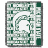 NCAA Michigan State Spartans FOCUS 48x60 Triple Woven Jacquard Throw