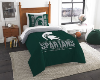 NCAA Michigan State Spartans Twin Comforter Set