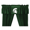 NCAA Michigan State Spartans Valance - Locker Room Series