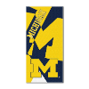 NCAA Michigan Wolverines Colossal Beach Towel