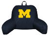 NCAA Michigan Wolverines Bed Rest Pillow