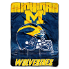 NCAA Michigan Wolverines OVERTIME 60x80 Super Plush Throw