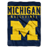 NCAA Michigan Wolverines 60x80 Super Plush Throw