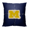 NCAA Michigan Wolverines 18x18 Letterman Pillow