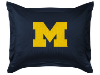 NCAA Michigan Wolverines Pillow Sham - Locker Room Series