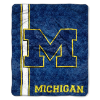 NCAA Michigan Wolverines Sherpa 50x60 Throw Blanket
