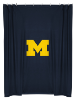 NCAA Michigan Wolverines Shower Curtain
