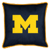 NCAA Michigan Wolverines Pillow - Sidelines Series