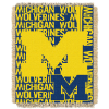 NCAA Michigan Wolverines FOCUS 48x60 Triple Woven Jacquard Throw
