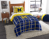 NCAA Michigan Wolverines TWIN Size Bed In A Bag