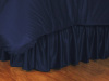 MLB Milwaukee Brewers Bed Skirt - Sidelines Series