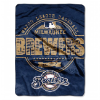 MLB Milwaukee Brewers 50x60 Micro Raschel Throw