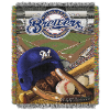 MLB Milwaukee Brewers Home Field Advantage 48x60 Tapestry Throw