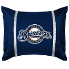MLB Milwaukee Brewers Pillow Sham - Sidelines Series