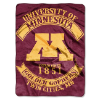 NCAA Minnesota Golden Gophers 60x80 Super Plush Throw